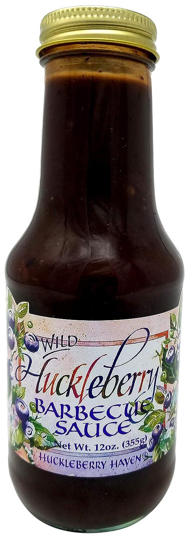 Taste the Wilderness Wild Huckleberry Barb-B-Q Sauce 12 oz