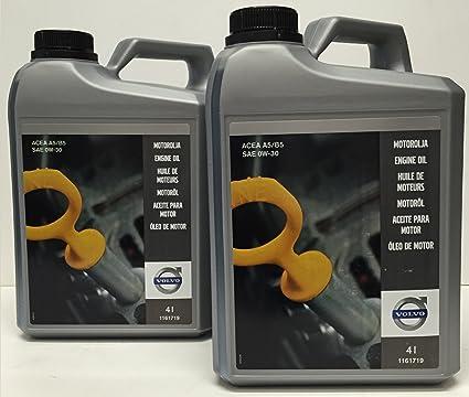 Volvo Aceite para Motor Original SAE 0W30 A5/B5 8 litros: Amazon ...