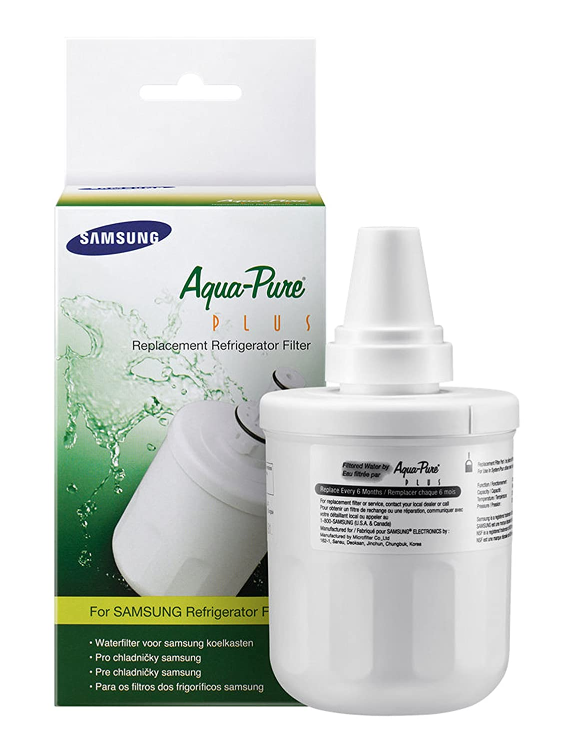 Samsung Products DA29-00003F Aqua-Pure Plus Refrigerator Water Filter 1 Pack