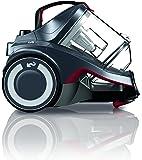 Dirt Devil DD2225-3 Staubsauger EEK A (700 Watt Hocheffizienzmotor, 2,7 L, HEPA Media Ausblasfilter, inklusive Parkettbürste, 3 in 1 Kombidüse am Schlauch, ohne Beutel) metallic