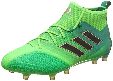 adidas aCE 17.1 Primeknit FG – Chaussures de Football pour Homme, Vert – (Versol