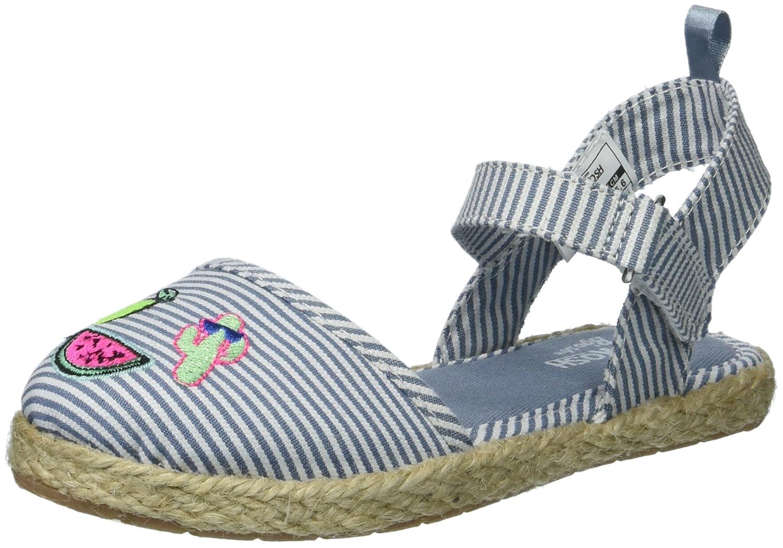 OshKosh B'Gosh Kids Georgette Girl's Closed Toe Espadrille Sandal Mary Jane Flat OshKosh B'Gosh -