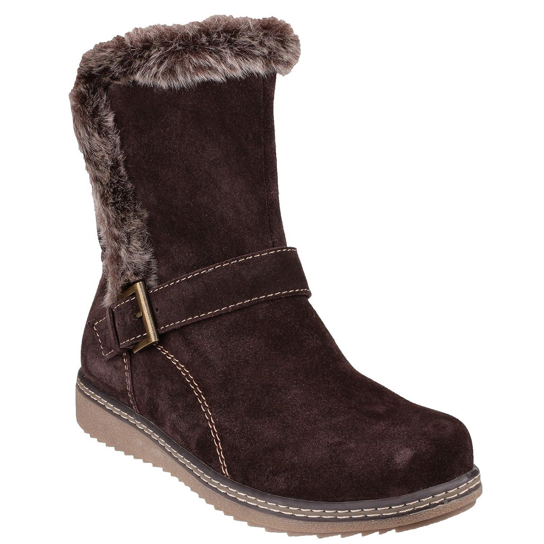 purchase cheap 5e52e ddd96 Fleet & Foster Budapest Womens Leather Boots Black - Black ...