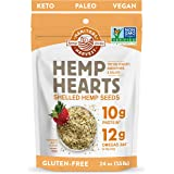 Manitoba Harvest Hemp Hearts Shelled Hemp Seeds, 24oz; 10g Plant-Based Protein & 12g Omegas per Serving, Whole 30 Approved, V