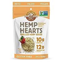 Manitoba Harvest Hemp Hearts Shelled Hemp Seeds, 24oz; 10g Plant-Based Protein &...