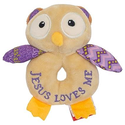 Amazon Com Wee Believers Lil Prayer Buddy Opal The Owlet Jesus