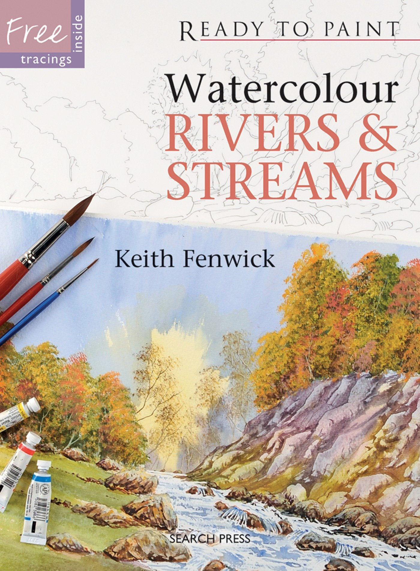 Read Online Watercolour Rivers & Streams (Ready to Paint) ebook