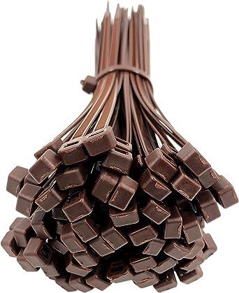 Attaches solides et en nylon Qualit/é sup/érieure Dimensions/: 140 x 3,6 mm noir Lot de 100 serre-c/âbles Gocableties