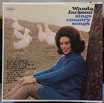 Wanda Jackson Wanda Jackson Sings Country Songs Vinyl Record