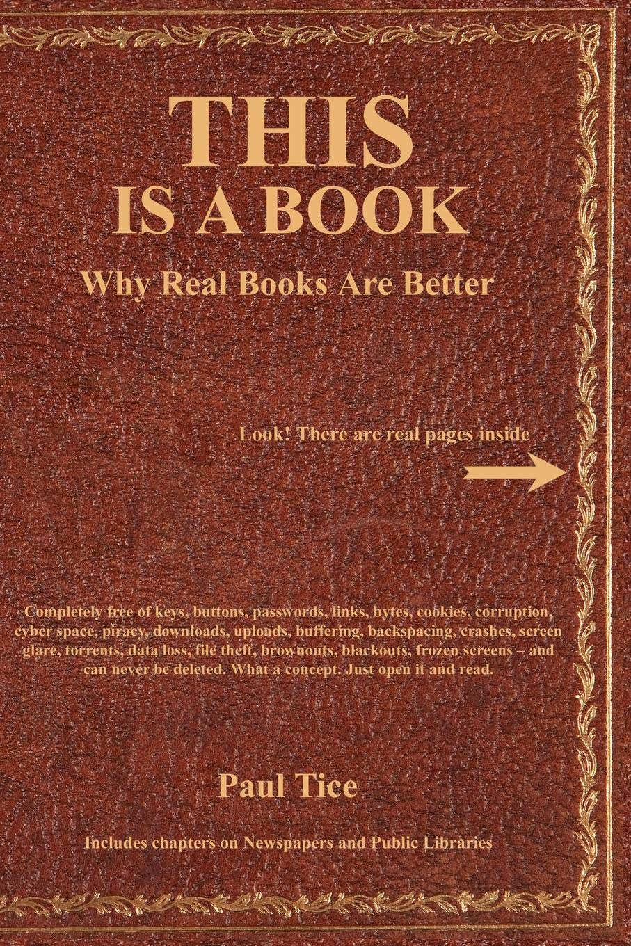 This Is a Book: Why Real Books Are Better PDF