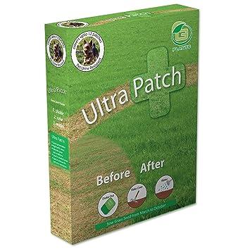 Ultra patch grass seed 1kg standard outer lawn repair garden care.