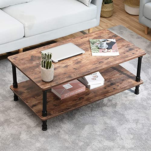 Best living room table: Industrial Coffee Table