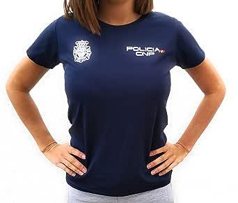 CNP Camiseta técnica para Mujer de Deporte para Entrenamiento policía Nacional (XL): Amazon.es: Ropa y accesorios