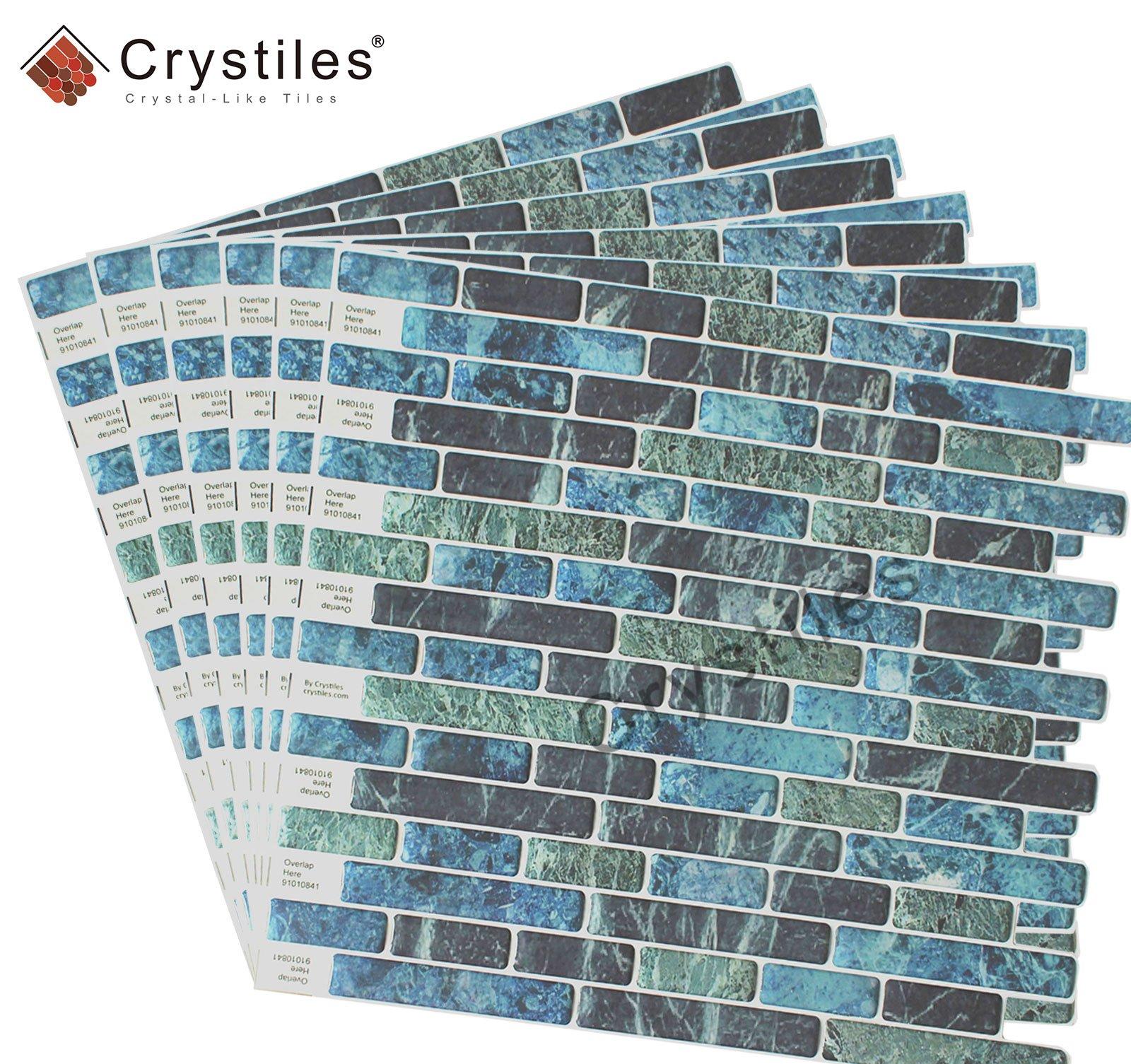 Crystiles Peel And Stick Self Adhesive Diy Backsplash