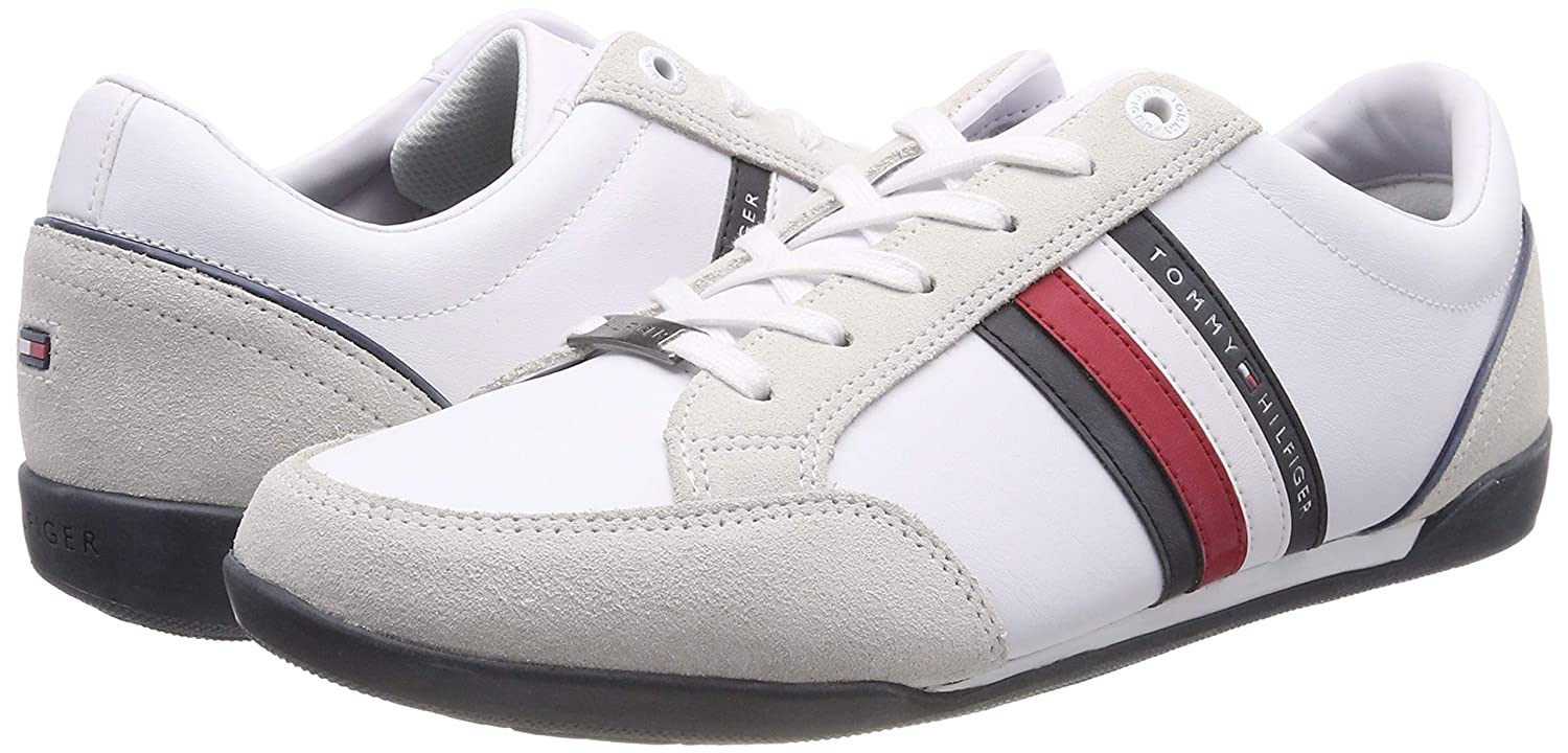 Tommy Tommy Tommy Hilfiger Herren Corporate Material Mix Cupsole Turnschuhe  2c626a