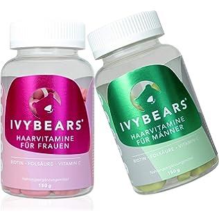 ivybears® | Hair multi-vitamins | pelo vitaminas | Biotina, folic Acid,