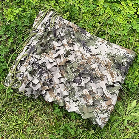 13X13FT Jungle Camo Net Leaves Camo Hunting Net Cover Birthday Party Decoration