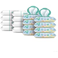Baby Wipes, Pampers Baby Diaper Wipes, Complete Clean Scented, 8X Pop-Top Packs and 8 Refill Packs for Dispenser Tub, 1152 Total Wipes