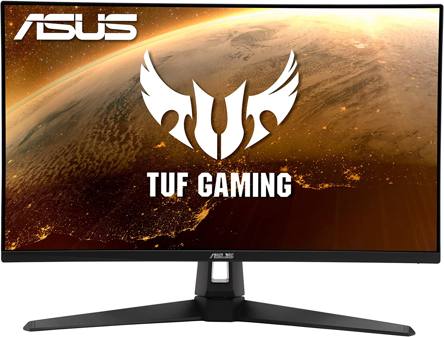 """ASUS TUF Gaming VG27AQ1A 27"""" HDR Gaming Monitor, WQHD (2560 x 1440), 170Hz (Supports 144Hz), IPS, 1ms, G-SYNC Compatible, Extreme Low Motion Blur, Eye Care, HDMI DisplayPort, HDR 10, BLACK"""