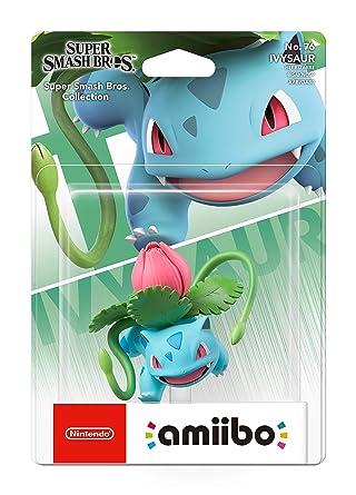 Amiibo - Ivysaur [Colección Super Smash Bros]: Amazon.es ...