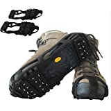 Limm Crampons Traction Ice Cleats - Microspikes Grips Quickly & Easily Over Footwear - Snow and Ice Cleats for Shoes and…