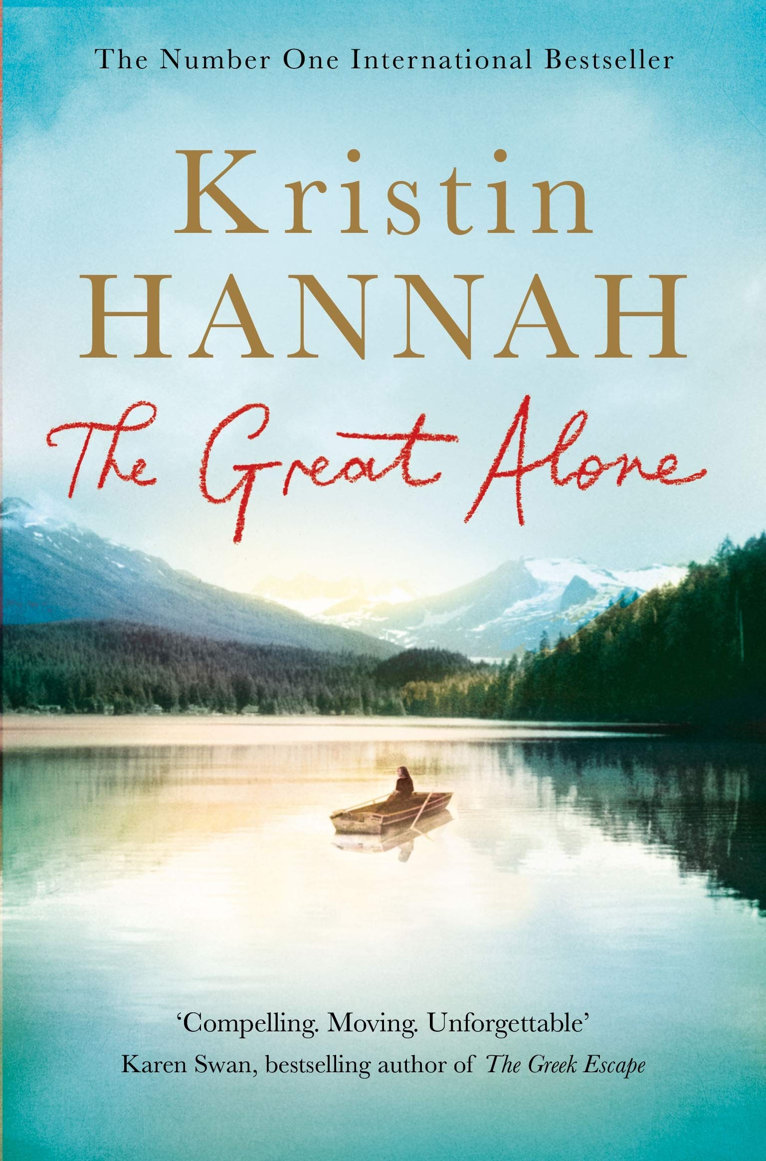 Alternative cover for 'The Great Alone' by Kristin Hannah