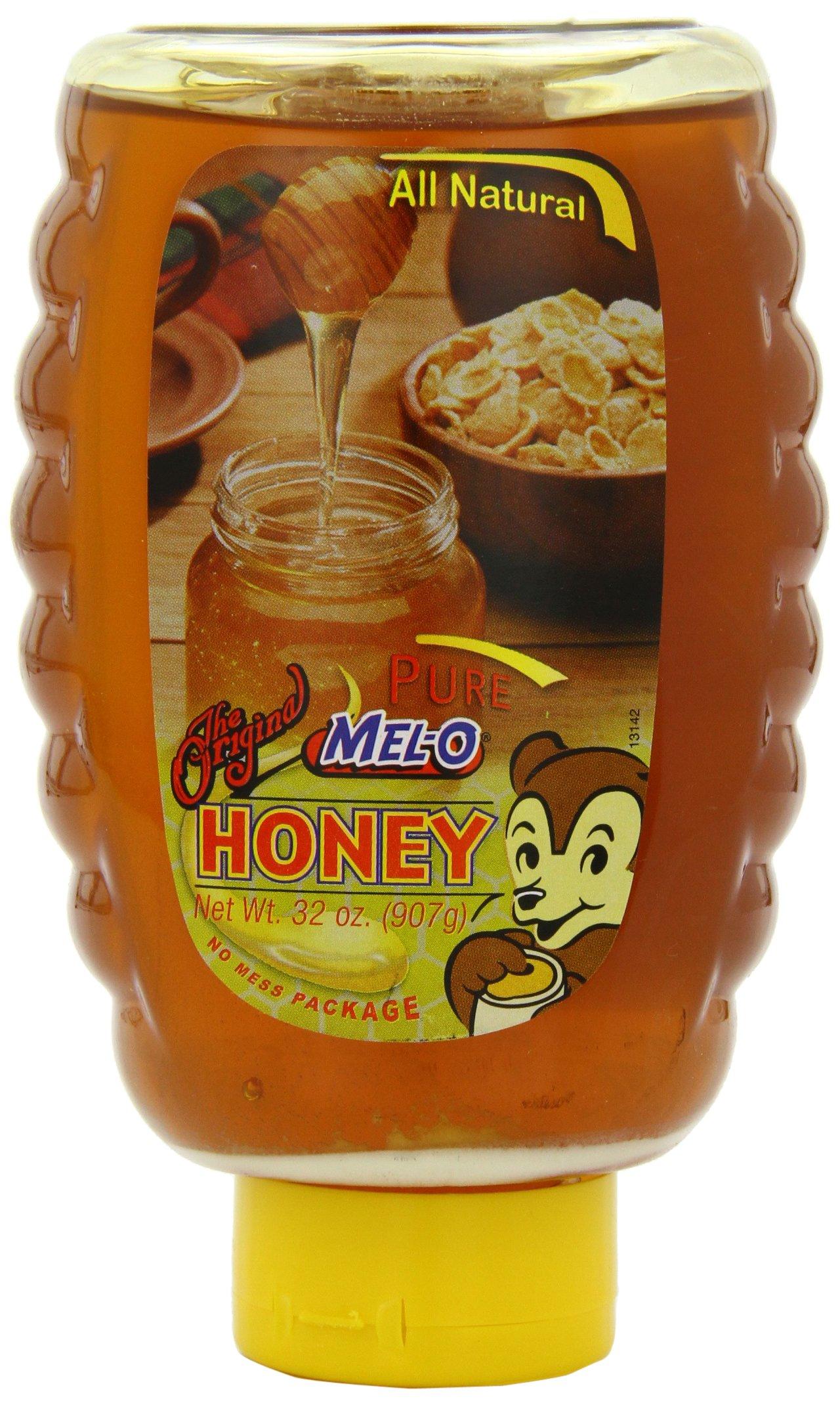 Mel-O Pure Honey with No Mess Cap, 32-Ounce