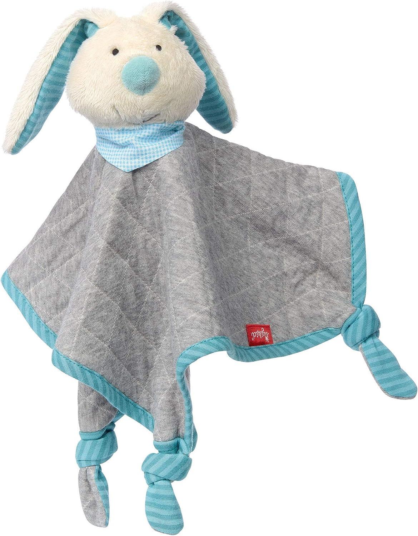 fille et gar/çon doudou chien /'Organic Collection/' rouge//bleu sigikid 40503 coton organique