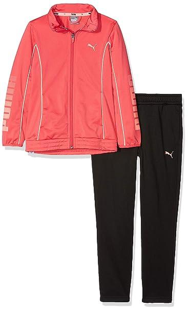 Puma Mädchen Tricot Graphic Suit Trainingsanzug: