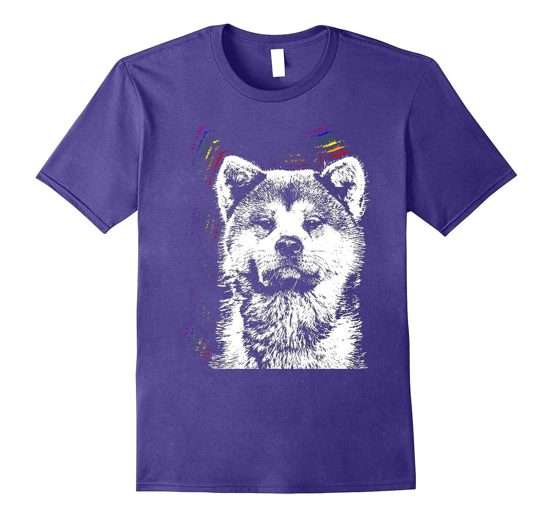 Akitas Love Everyone Gay Pride Shirt-Art