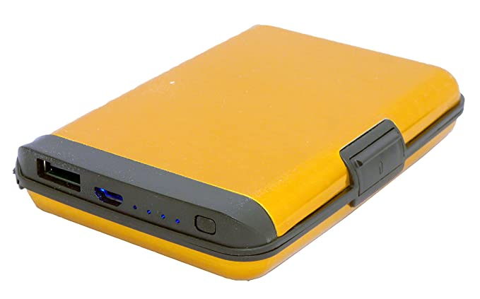 Amazon.com: Cartera portátil de aluminio con bloqueo RFID ...