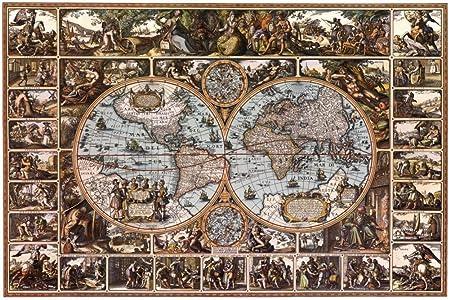 Magna carta old world map art maxi poster print 61x91 cm amazon magna carta old world map art maxi poster print 61x91 cm gumiabroncs Gallery