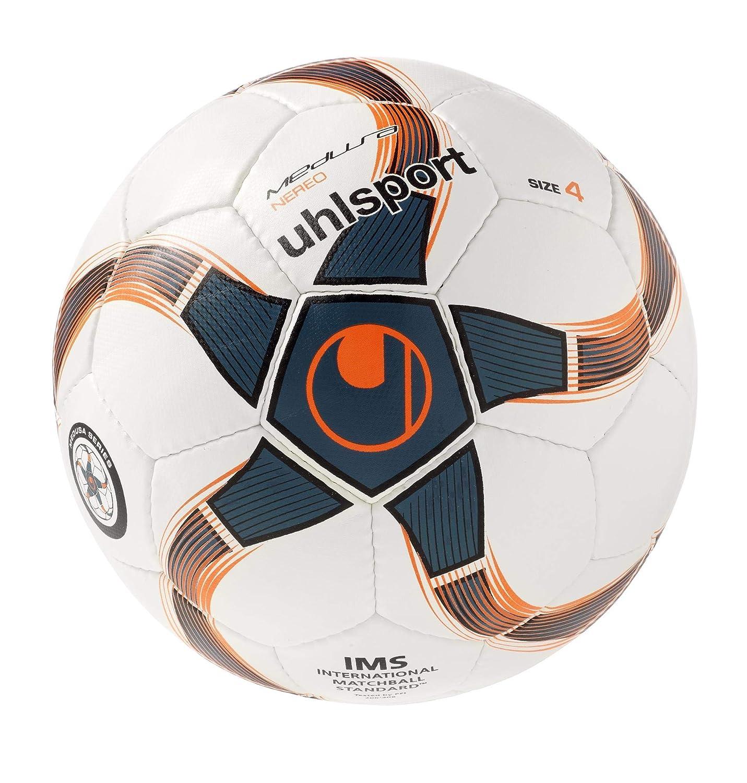 uhlsport Medusa Nereo Balón Futbol, Unisex, Blanco/Negro (Petroleo ...