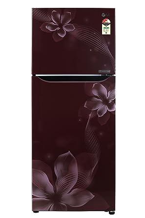 LG 260 L 3 Star Frost Free Double Door Refrigerator(GL-C292SSOU.ASOZEBN, Scarlet Orchid, Inverter Compressor)