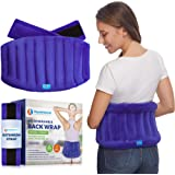 Microwavable Extra Large Heating Wrap for Lower Back Pain – Moist Heat Therapy Pad for Instant Relief in Case of Aches…