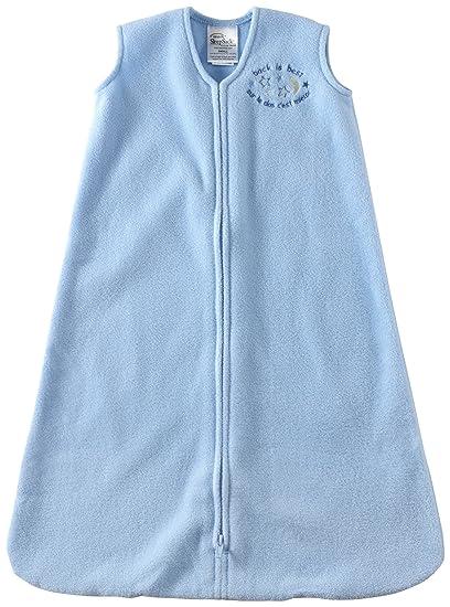 42adb50c1 HALO 2164 SleepSack Micro-Fleece Wearable Blanket X-Large Light Blue:  Amazon.ca: Baby