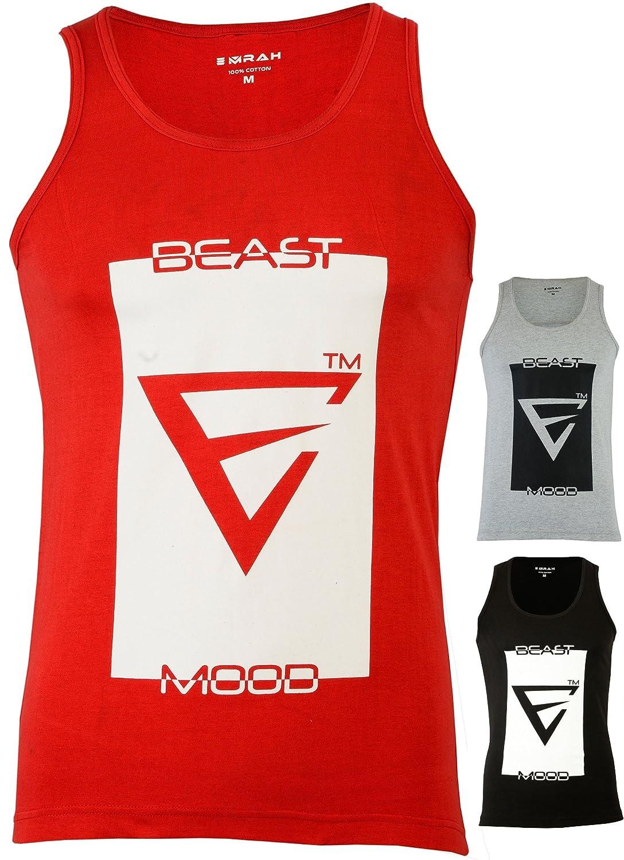 336ff4fb4eb6c Men X EMRAH Gym Muscle Sleeveless Shirt Tank Top T-shirt Bodybuilding Sport  Vest Mma