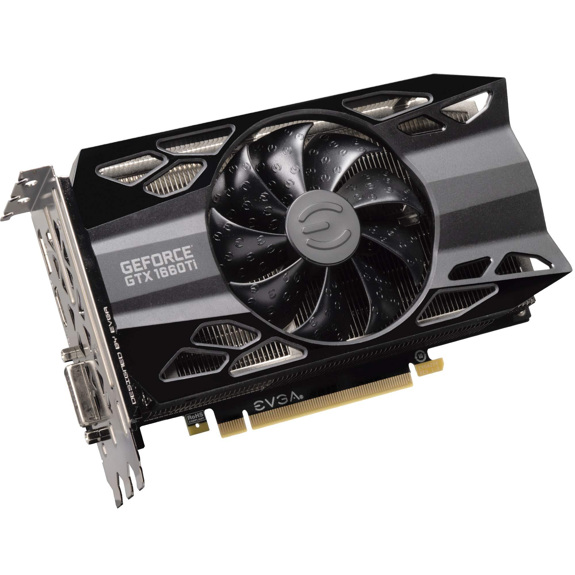 EVGA GeForce GTX 1660 Ti XC Black Gaming, 6GB GDDR6, HDB Fan Graphics Card 06G-P4-1261-KR by EVGA (Image #4)