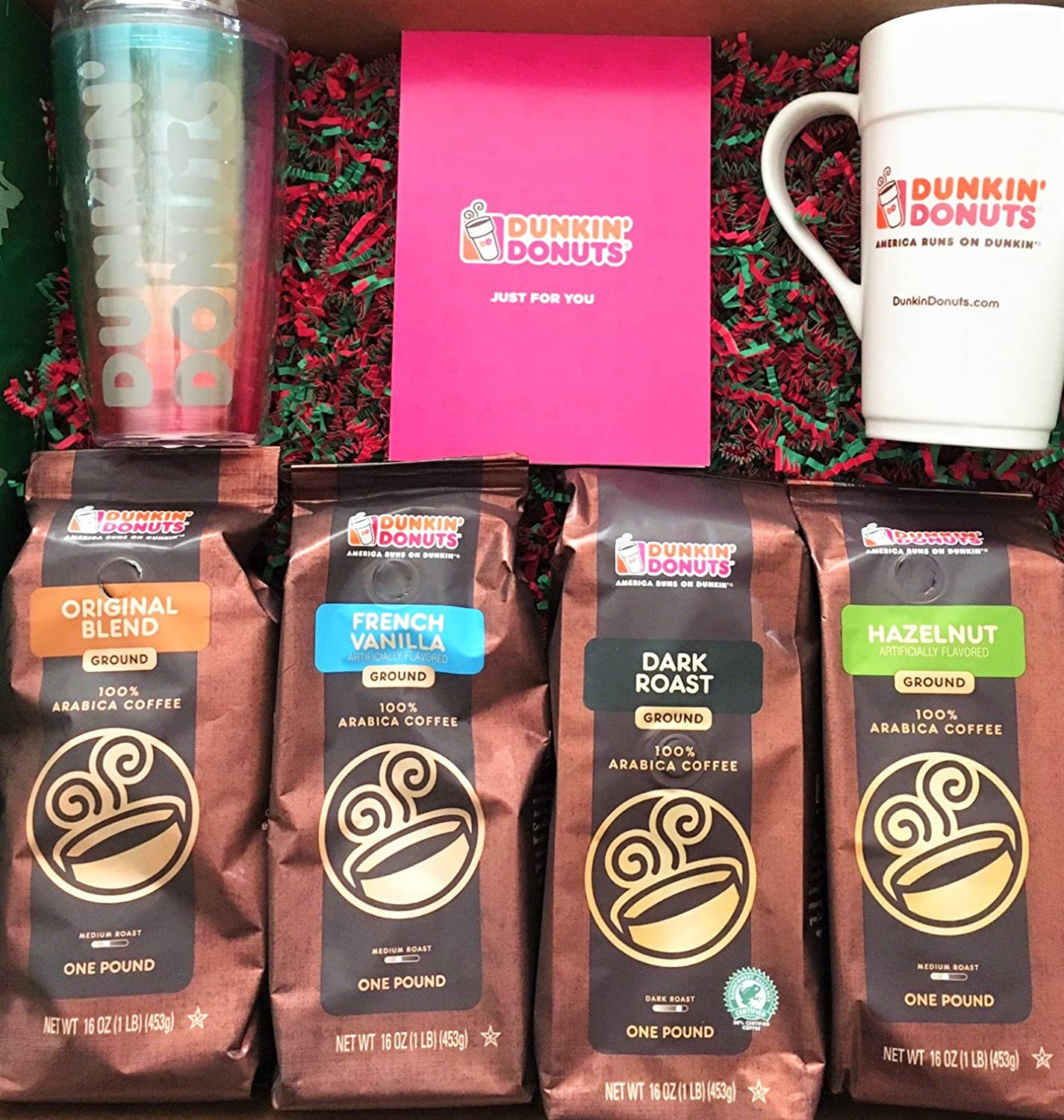 Amazon Ultimate Dunkin Donuts Lovers Holiday Gift Set