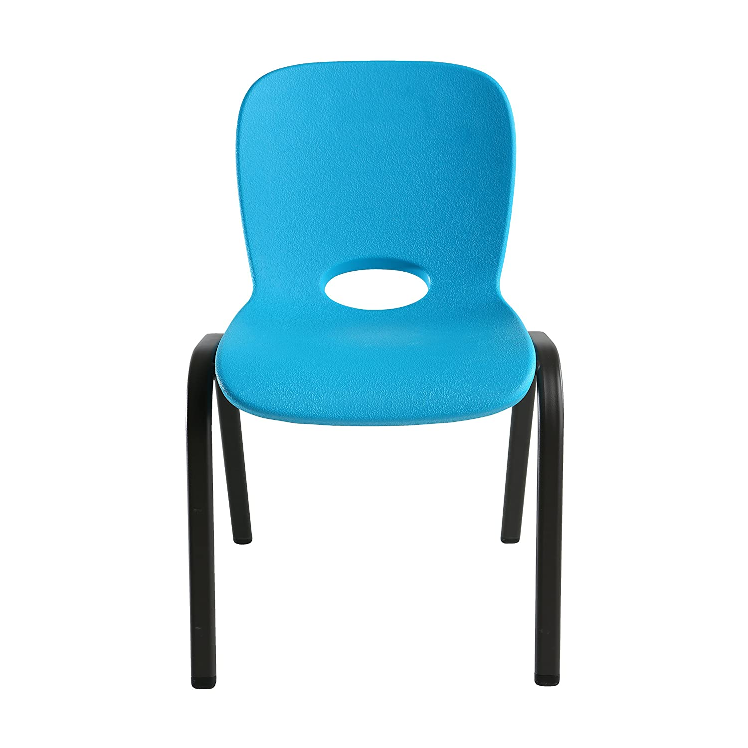 Amazon Lifetime Kids Stacking Chair 4 Pack Glacier