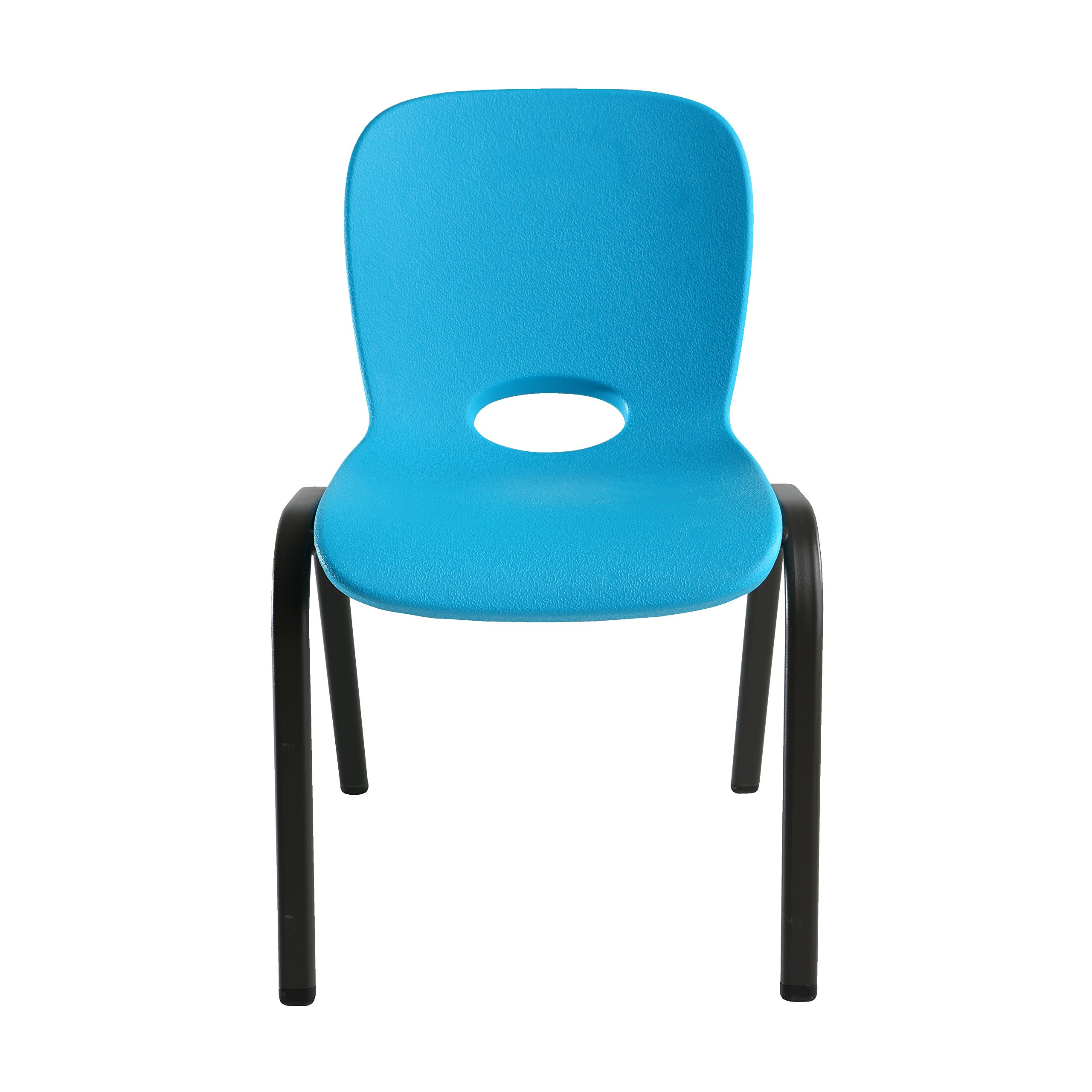 Lifetime 80472 Kids Stacking Chair (4 Pack), Glacier Blue by Lifetime