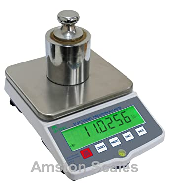 c598807d9b1251 Amazon.com  20,000 gram x 0.1 .1 gram High Resolution Digital Balance Scale  Laboratory Analytical Bench Counting Grain Carat Gun Powder Gold Jewelry  Ammo ...