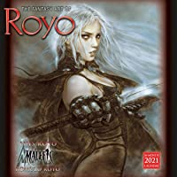 FANTASY ART OF LUIS ROYO 2021 WALL CALENDAR