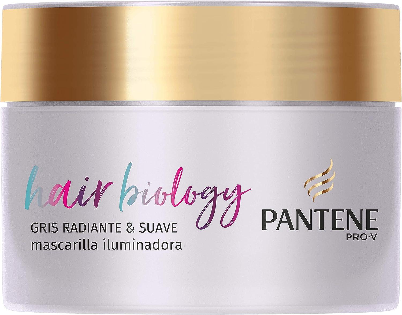 Pantene Gris Radiante & Suave - Mascarilla para el pelo, 160ml