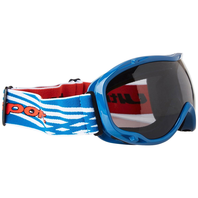 27263623f3 Ultrasport 331500000086 Gafas de esquí y Snowboard con Lente antivaho,  Unisex Adulto, Azul/Blanco/Gris, Talla Única: Amazon.es: Deportes y aire  libre
