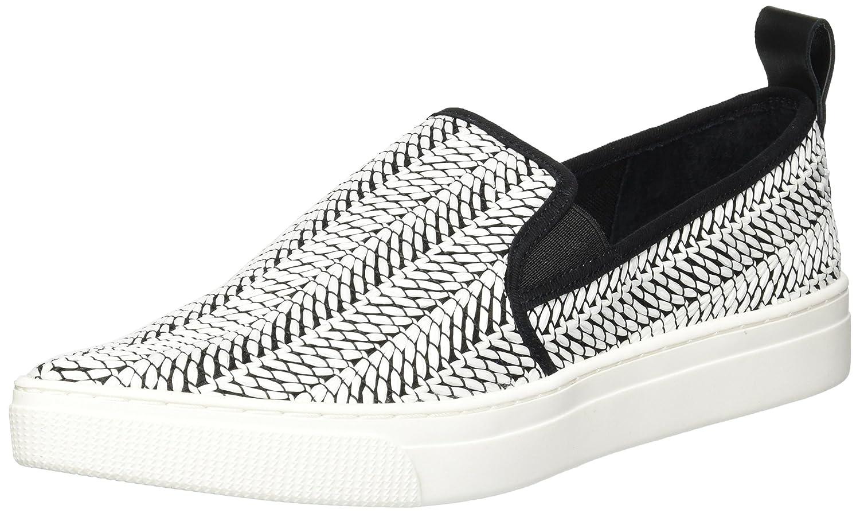 Dolce Vita Women's Geoff Sneaker B079GX662B 9 B(M) US|Black/White Raffia