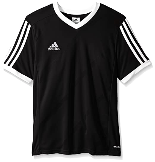 3905e14d304 Amazon.com : adidas Performance Boys Youth Tabela 14 Short Sleeve Jersey :  Clothing
