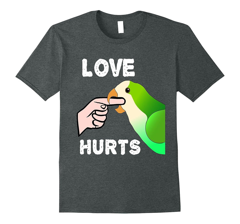 Womens Quaker Parrot T shirt Heather-Awarplus