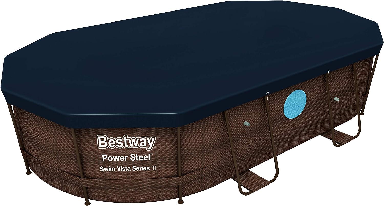 Bestway 58425 - Cobertor Invierno para Piscina Desmontable 427x250 ...