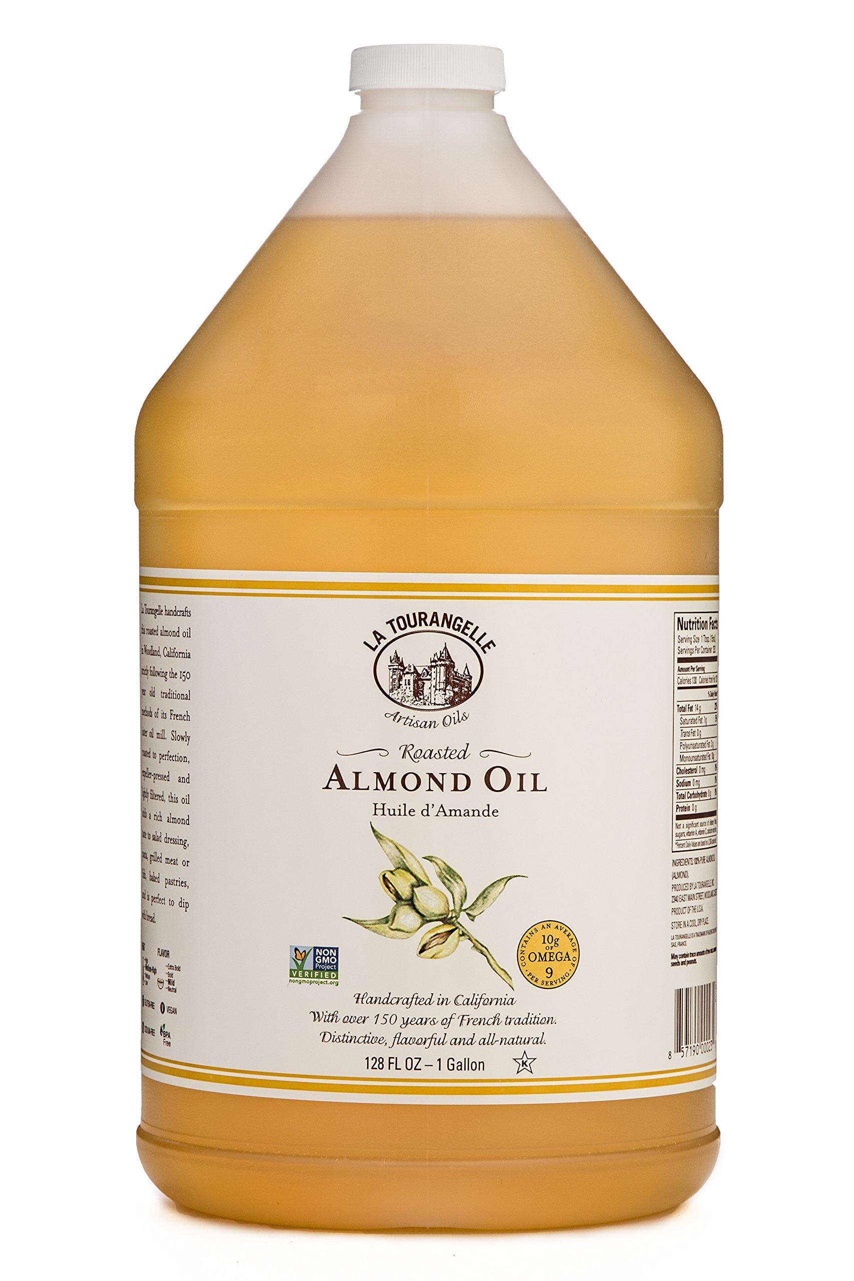 La Tourangelle, Roasted Almond Oil, 128 Fluid Ounce by La Tourangelle